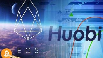 Üçüncü En Büyük Kripto Borsası Huobi Eos'u Listelemeye Başladı