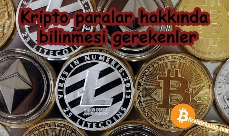 Kripto Paralaradan Zarar Etmemek İçin Bilinmesi Gerekenler