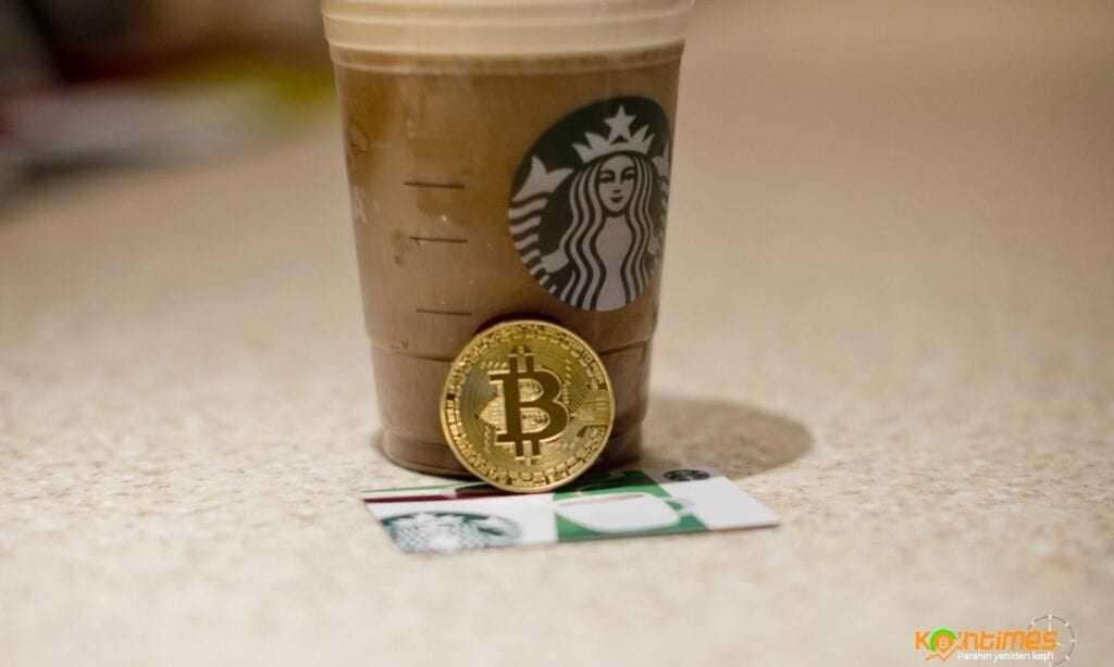 Starbucks'ta Bitcoin Devri
