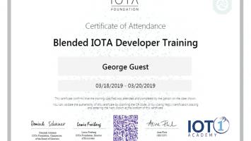 IOTA , IOTA Akademisini Başlattı