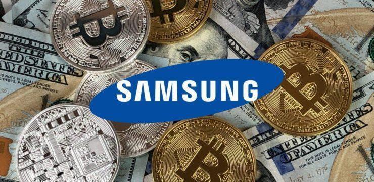 Samsung Pay , Kripto Paraları Ekleyecek