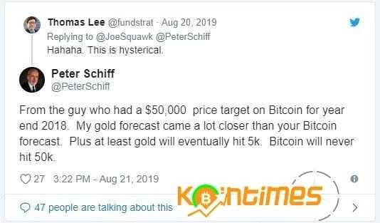 Bitcoin Asla 50.000 Dolar Olamayacak