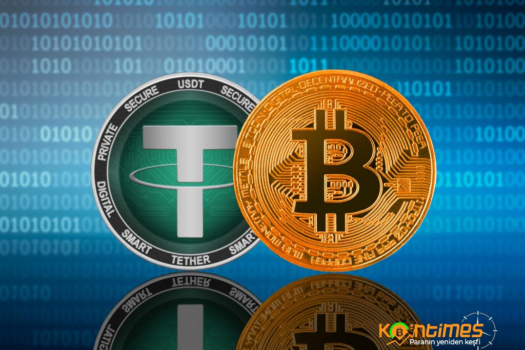 Tether İşlem Hacminde Bitcoin'i Takip Ediyor