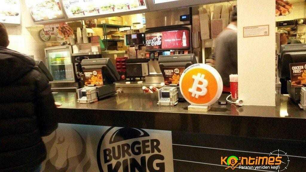 Burger King Artık Bitcoin İle De Ödeme Alacak!