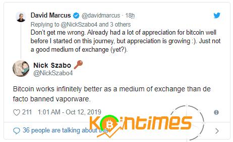 Nick Szabo : Bitcoin Borsalarda Libra'dan Daha Çok İşlem Görecek
