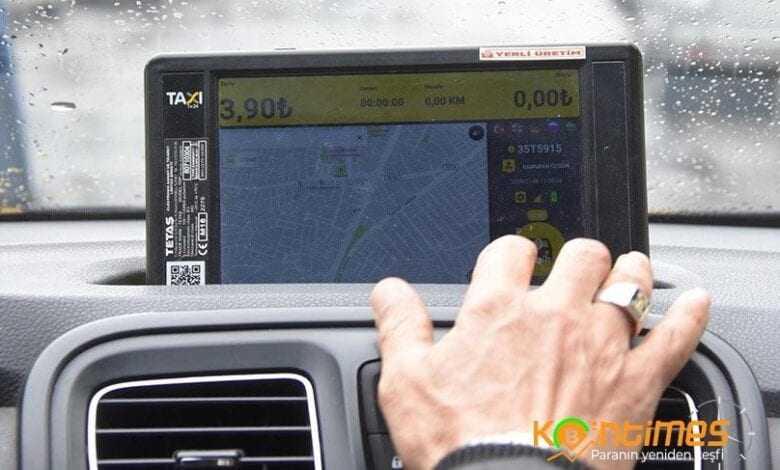 i̇zmir'de taksiler uygulama üzerinden çağırılacak