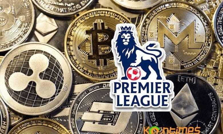 bitcoin reklamları premier lig'de sahne aldı