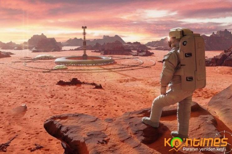 NASA Mars'a Mantardan Evler İnşa Etmeyi Planlıyor