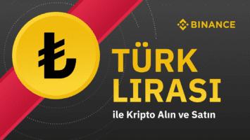Binance'de Havale ve EFT Seçeneği Türkiye İçin Açıldı!