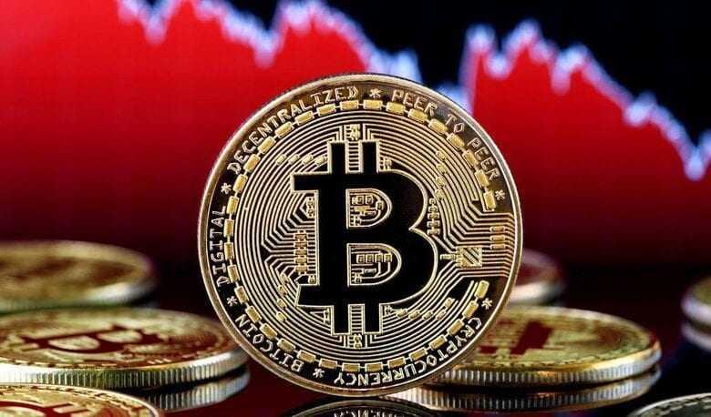 bitcoin'de sert düşüş devam ediyor, btc miktarı da azalıyor 1