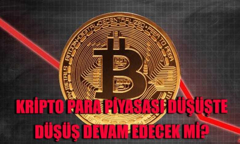 bitcoin neden düştü? kripto paralar kırmızıya büründü! 1