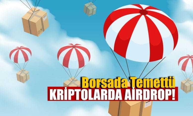 borsada temettü kriptolarda airdrop 1
